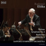 Brahms Symphony No. 4, Beethoven Symphony No. 4 : Eliska / Sapporo Symphony Orchestra