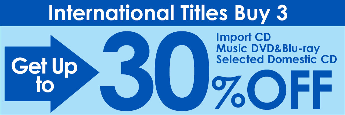 Buy 3 International Titles and Get Up to 30% Off!