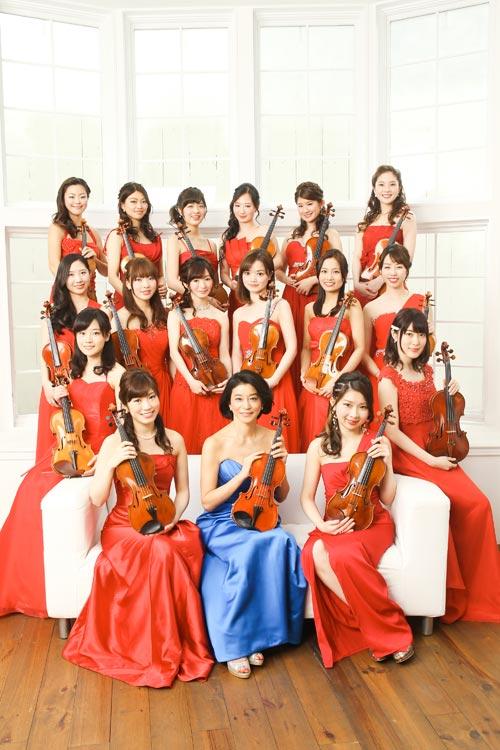 高嶋ちさ子 12人のヴァイオリニスト コンサート