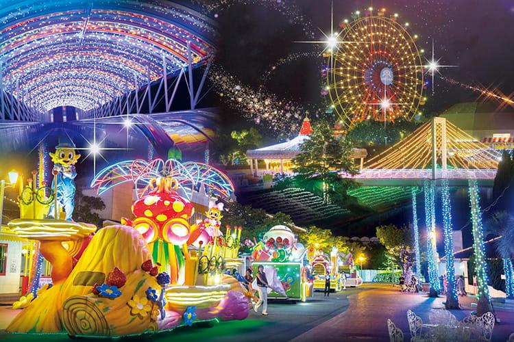 NEWレオマワールド(香川) 遊園地 イルミネーション