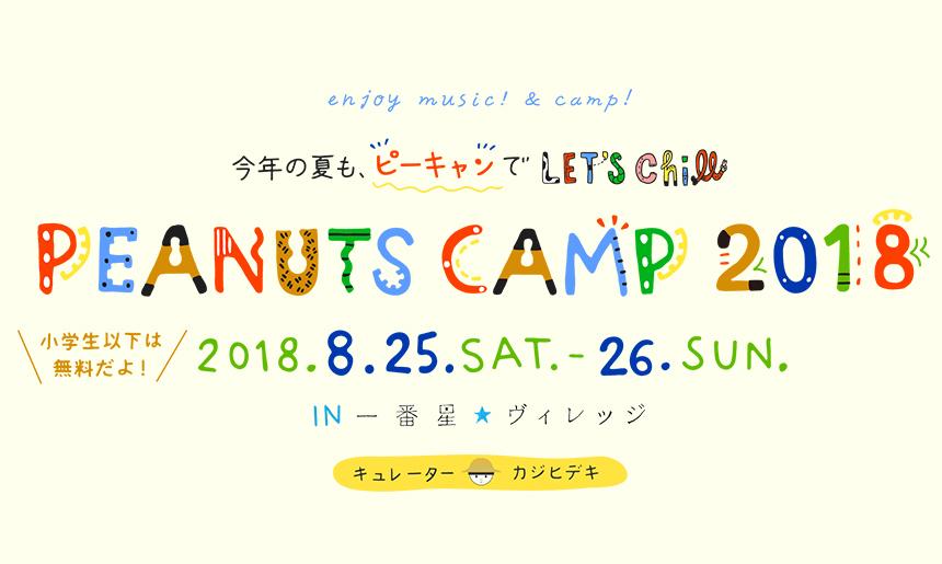 peanuts camp 2018 ピーナッツキャンプ ローチケ ローソンチケット