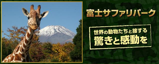 富士サファリパーク ※ナイト不可 ※発券日より3ヶ月有効