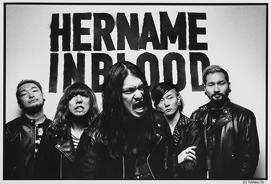HER NAME IN BLOOD 『Resurrection Tour 2017』