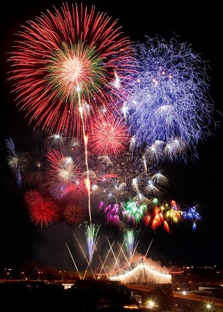 ふくろい遠州の花火2017