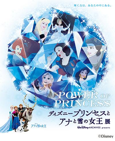 POWER OF PRINCESS 「ディズニープリンセスとアナと雪の女王展」
