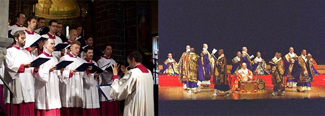 ミラノ大聖堂聖歌隊&真言宗声明