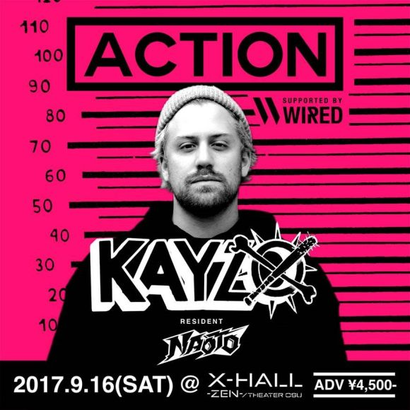ACTION supported by WIRED MUSIC FESTIVAL
