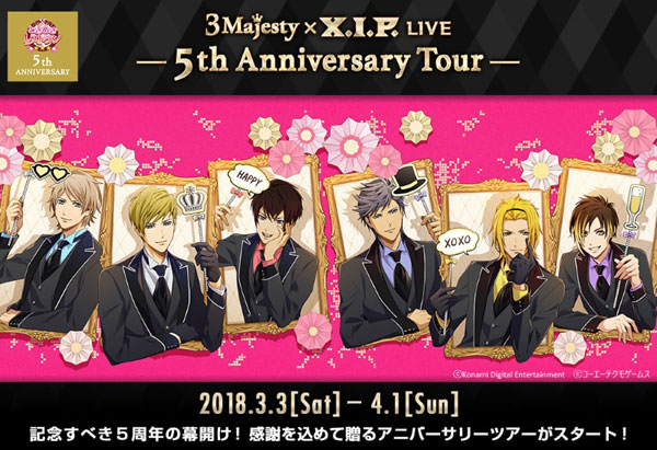 3 Majesty × X.I.P. LIVE -5th Anniversary Tour-