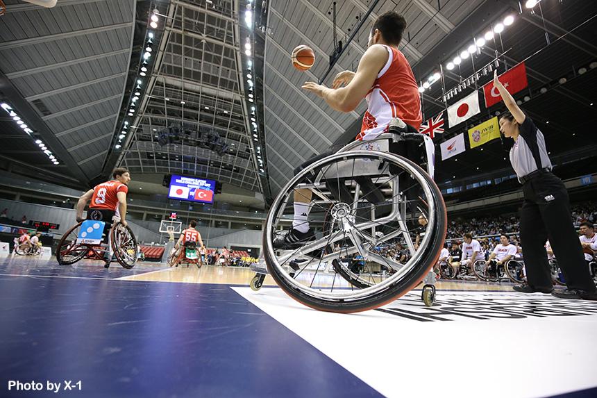 三菱電機 WORLD CHALLENGE CUP 2018(車いすバスケットボール)