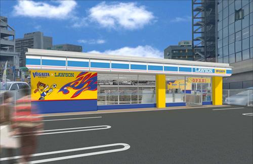 ベガルタ仙台×ローソンコラボレーション店舗