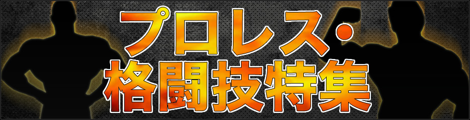プロレス・格闘技特集