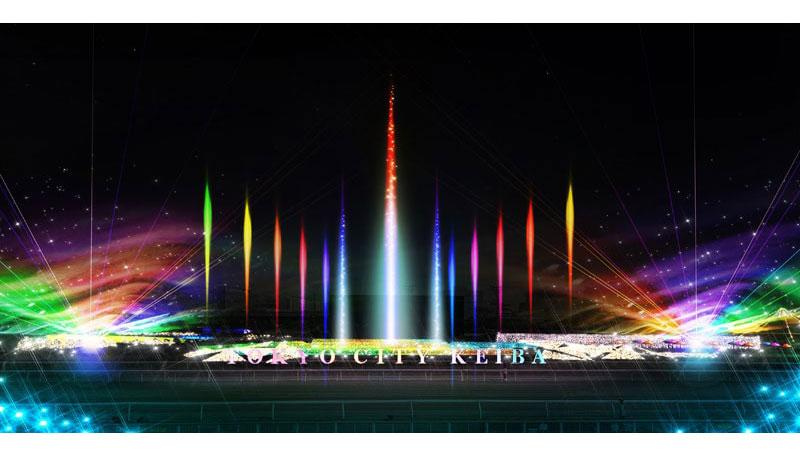 光の大噴水2