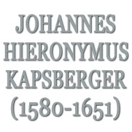 カプスベルガー(1580-1651)