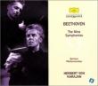 Comp.symphonies: Karajan / Bpo (1960's) / Beethoven