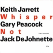Whisper Not Keith Jarrett