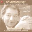 Sym.2, Symphonic Dances, Orchestra Works: Temirkanov / St.petersburg.po / Rachmaninov