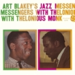 With Thelonious Monk Art Blakey