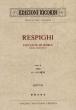 レスピーギ/交響詩「ローマの噴水」 ミニチュア・スコア