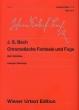 バッハ/半音階的幻想曲とフーガBWV903 ウィーン原典版