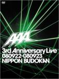 Aaa 3rd Anniversary Live 080922-080923 Nihon Budokan
