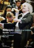 Mussorgsky Pictures at an Exhibition, Borodin Symphony No, 2, Shostakovich : Rattle / Berlin Philharmonic