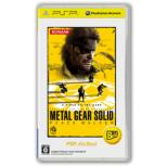 METAL GEAR SOLID PEACE WALKER: PSP the Best