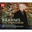 Comp.symphonies: Rattle / Bpo