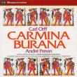 Carmina Burana: Previn / Lso & Cho S.armstrong G.english T.allen