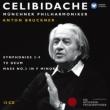 Symphonies Nos, 3, 4, 5, 6, 7, 8, 9, Te Deum, Mass No, 3, : Celibidache / Munich Philharmonic (12CD)
