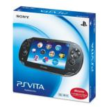 PlayStation Vita 3G/Wi-Fi Crystal Black [First Purchase Limited Edition]