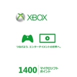 Xbox LIVE 1400 Micro Soft Point Card