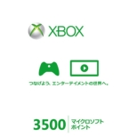 Xbox LIVE 3500 microsoft Point Card