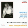 Sym, 4, : Knappertsbusch / Cologne Rso +wagner: Siegfried Idyll(1953)