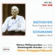 Piano Concerto, 4, : Backhaus(P)Knappertsbusch / Vpo+schumann: Sym, 4