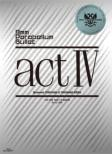 actIV (Blu-ray)[First Press Limited Edition]
