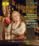 La Fanciulla del West : G.Del Monaco, Luisotti / MET Opera, Voigt, M.Giordani, L.Gallo, etc (2011 Stereo)
