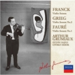 Franck Violin Sonata, Grieg Violin Sonata No.3, Faure Violin Sonata No.1 : Grumiaux(Vn)Sebok, Hajdu(P)