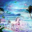 Enchanted Horse -Greeting Card 1