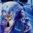 Wolf -Greeting Card 2