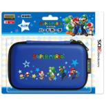 Super Mario Hard Pouch Blue (All Stars)