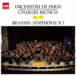 Symphony No.1 : Munch / Paris Orchestra (Single Layer)