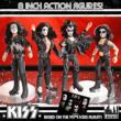 KISS Retro 8 inch Figure Series 2 (4 per Set)
