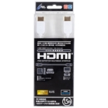 Cyber HdmiP[u(White)1.5m