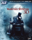 Abraham Lincoln: Vampire Hunter 3 Discs 3D, 2D Blu-ray & DVD & Digital Copy [First Press Limited Edition]