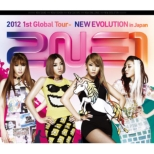 2NE1 2012 1st Global Tour -NEW EVOLUTION in Japan (Blu-ray)
