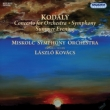 Concerto for Orchestra, Symphony, Summer Evening : L.Kovacs / Miskolc Symphony Orchestra