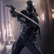 Movie Masterpiece 1/6 Figure: Snake-Eyes (G.I.Joe Back 2 Revenge)