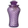 Bottle Lamp With Flameless Candle Amethyst