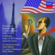 Gershwin Rhapsody in Blue : Maazel / Cleveland Orchestra +Copland : Mehta / Los Angeles Philharmonic