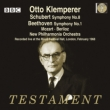 Schubert Symphony No.8, Beethoven Symphony No.1, Mozart, Berlioz : Klemperer / New Philharmonia (1968)(2CD)